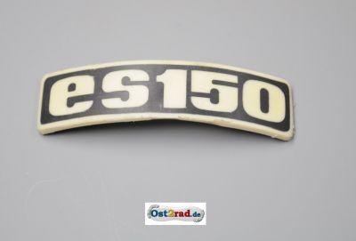 Abzeichen Plakette für Kotflügel passend für MZ ES 150 gebogen Plastik