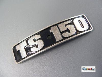 Abzeichen, Plakette für Kotflügel passend für MZ TS150 gebogen