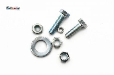 Schraubensatz Fahrgestell Hinterrad, Radkörper, Bremse passend für MZ ES 125 150