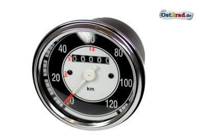 Tachometer rund 120 km/h Jawa CZ 125 - 250