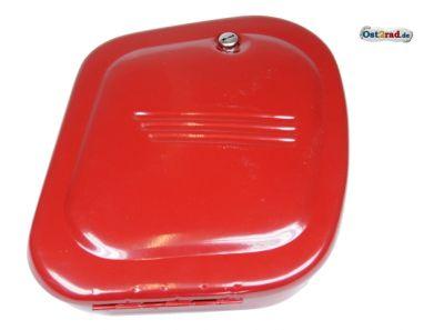 Werkzeugkasten Jawa CZ 125 - 350 neu rot, Bolzenverschluss