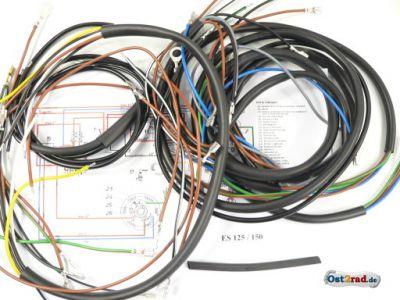 Kabelbaum passend für MZ ES 150 Steckkontakt