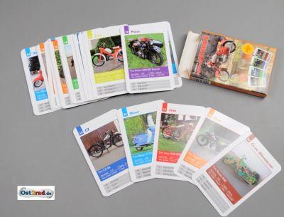 Spielkarten Quartett JAWA CZ Oldtimer Fahrzeuge