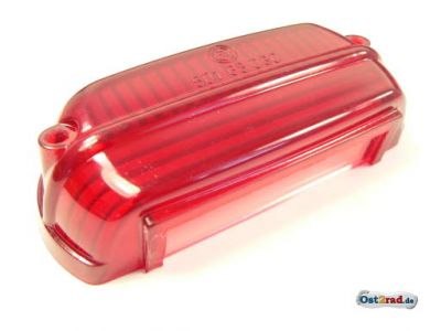 Rücklichtkappe CZ 125, 175, 250, PAV rot
