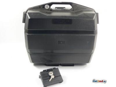 Seitenkoffer für Motorrad 32 Liter schwarz