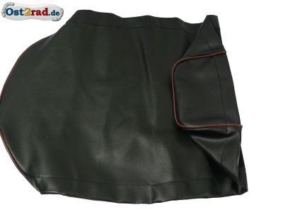 Sitzbankbezug passend für MZ, ES125 und ES150, ETS125, ETS150 schwarz