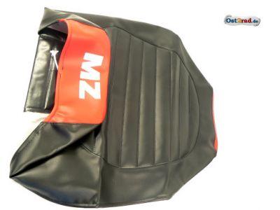 Sitzbankbezug passend für MZ ETZ 125, 150, 251 schwarz/rot