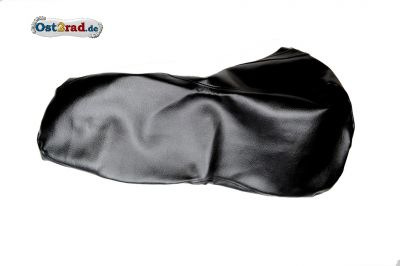 Sitzbankbezug schwarz Jawa CZ 125 - 350 Kyvacka in Form einer 8