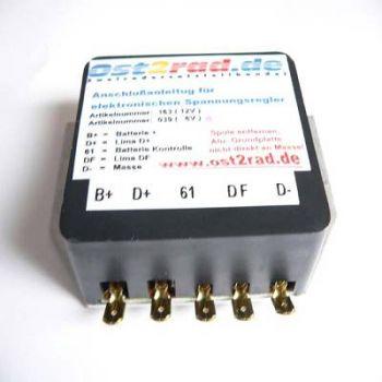 Spannungsregler Regler 6V passend für MZ TS ETS ES elektronik