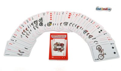Spielkarten BlackJack Bridge Poker JAWA CZ Oldtimer