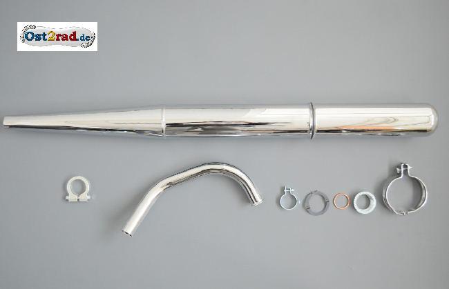Auspuff Krümmer Krümmermutter Schelle S51 S50