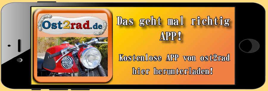 Ost2rad auch als App