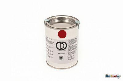 1 L peinture JAWA rouge origine