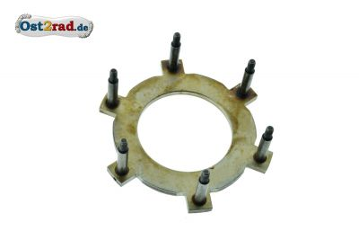 Pressure plate with distance bolts TS 250/1, ETZ 250/251