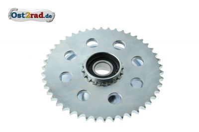 Rear gearwheel 46Z model JAWA Kyvacka 353, 354 and CZ