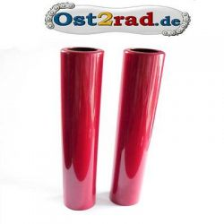 2 sleeves for fork Jawa red