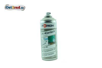 2K-Klarlack hochglänzend FÖRCH Spraydose 400ml