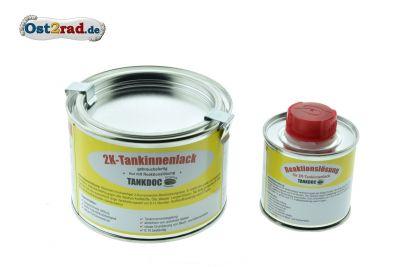 2K-Tanksiegellack inkl. Reaktionslösung, Inhalt 375g
