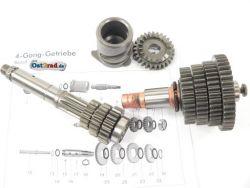 4-Gang Getriebe komplett SIMSON S51, SR50, KR51/2 Schwalbe
