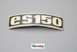 Abzeichen Plakette für Kotflügel MZ ES 150 gebogen Plastik