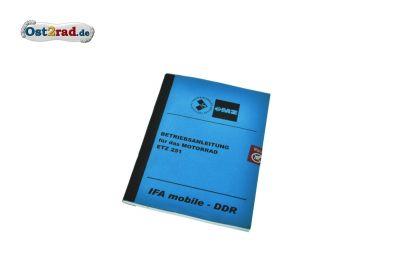 Manual MZ ETZ 251
