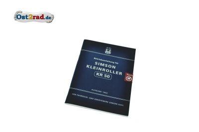 Manual SIMSON KR50