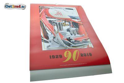 Calendrier 2019 JAWA 90 ans