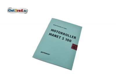 Montageanleitung Motorroller Manet S 100 deutsch
