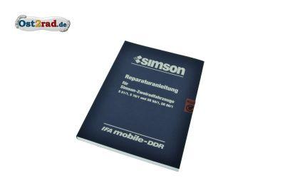 SIMSON S51 Repair Manual org.
