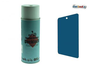 Bombe aérosol de peinture MZ SIMSON-Leifalit 400 ml Bleu Olympia
