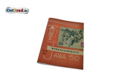 Werkshandbuch JAWA Pionier Typ 05 deutsch