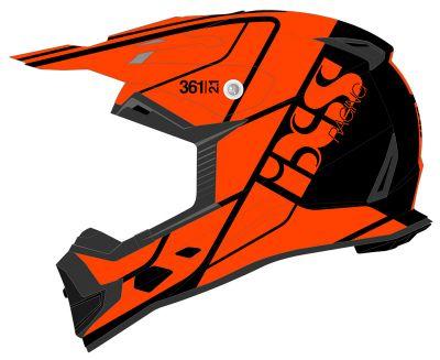 Crosshelm IXS 361 2.1 schwarz-orange