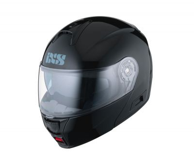 Klapphelm IXS HX 325 schwarz glänzend