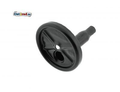 Abschlußkappe f. Schalldämpfer - schwarz emailiert - S53, S83