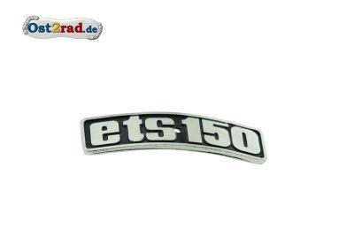 Abzeichen Plakette Kotflügel ETS 150 gebogen Metall