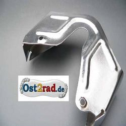 Extension piece chain guard for Jawa 250cc chrome