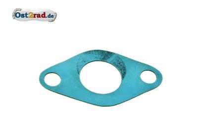 Ansaugstutzendichtung 19mm für Simson Plastasit blau