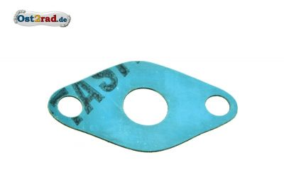 Ansaugstutzendichtung für Simson SR1 und SR2 Plastasit blau