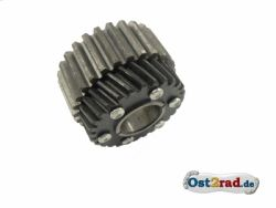 Driving wheel for primary transmission with clutch centre MZ 250