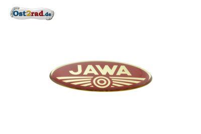 Aufkleber Jawa Logo 3D oval klein
