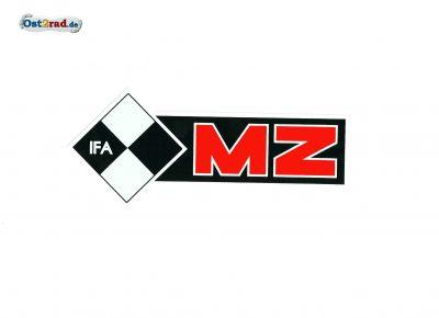 Adhésif MZ IFA côté gauche