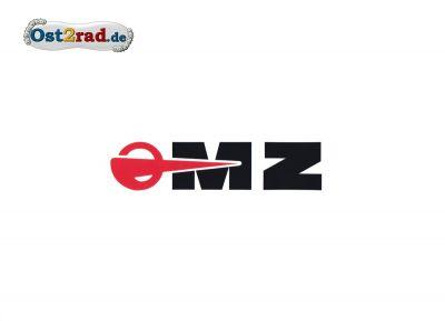 Aufkleber passend für MZ Logo WEISS- 55x16