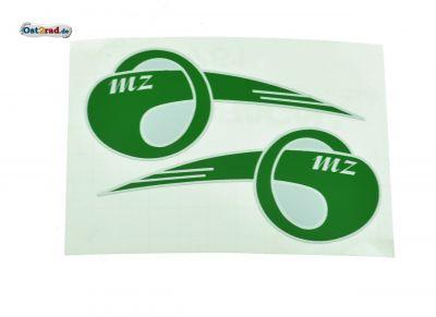 Aufkleber Emblem Tankflügel MZ RT125