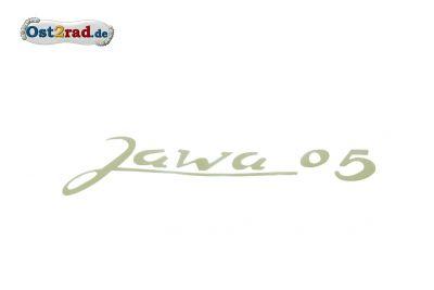 Aufkleber, Schriftzug JAWA Pionier Typ 05