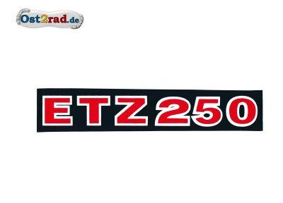 Adhésif cache latéral ETZ250