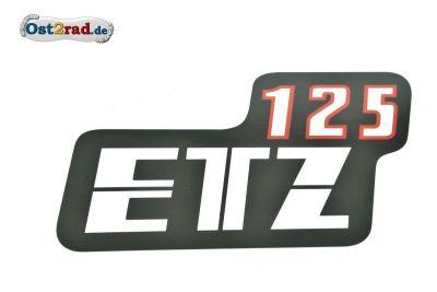 Adhésif pour cache latéral MZ ETZ 125.