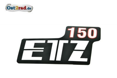 Sticker for page lid  ETZ150 white/red