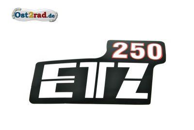 Adhésif cache latéral blanc/rouge ETZ250