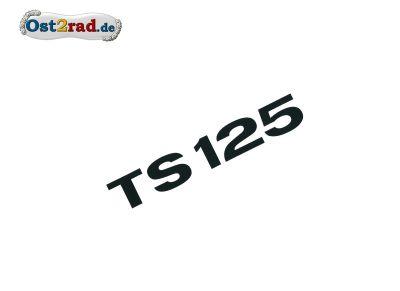 Aufkleber für Seitendeckel passend für MZ TS 125