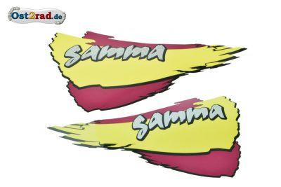 Aufkleber Set Gamma Simson SR50 SR80